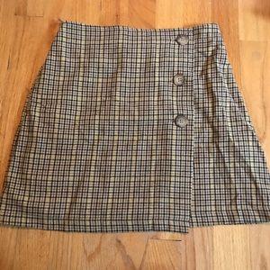 Plaid American Eagle Skirt